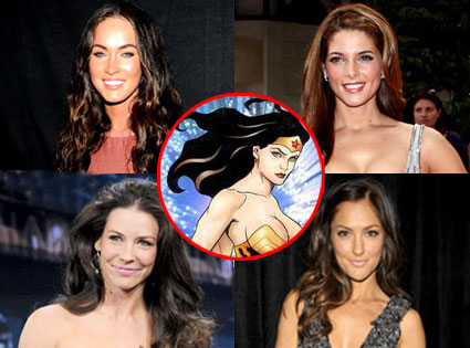 Evangeline Lilly, Megan Fox, Ashley Greene, Minka Kelly, Wonder Woman