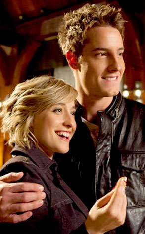 Justin Hartley, Allison Mack, Smallville
