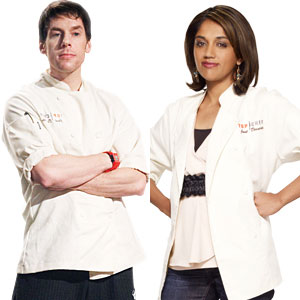 Malika Ameen, Seth Caro,Top Chef Just Desserts