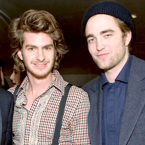 Andrew Garfield, Robert Pattinson