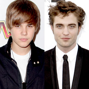 Justin Bieber, Robert Pattinson
