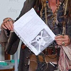 Johnny Depp, Letter