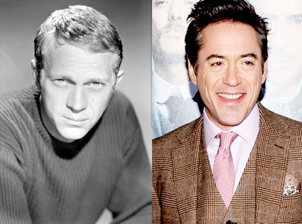Steve McQueen, Robert Downey Jr.