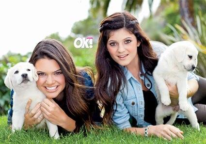 Kendall Jenner, Kylie Jenner, OK Magazine