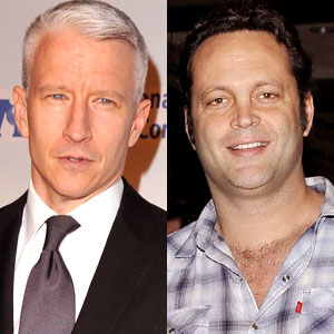 Vince Vaughn, Anderson Cooper
