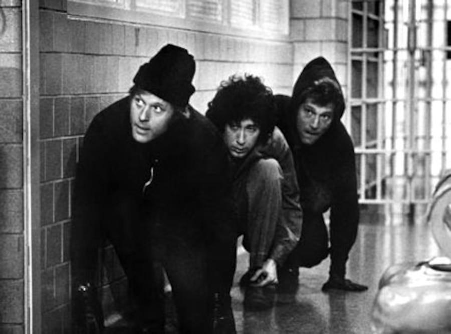 Robert Redford, Paul Sand, George Segal, THE HOT ROCK