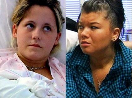 Teen Mom, Amber Portwood, Jenelle Evans