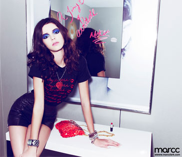 Kendall Jenner, Marc Clark Ad