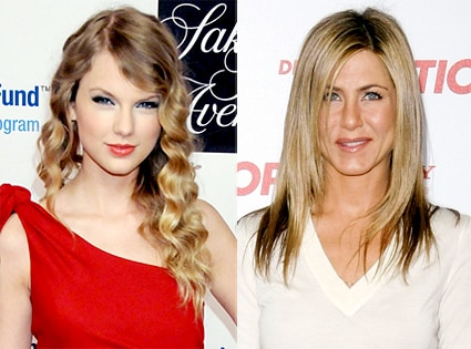 Taylor Swift, Jennifer Aniston