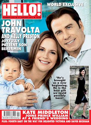 Travolta Family, Hello Cover