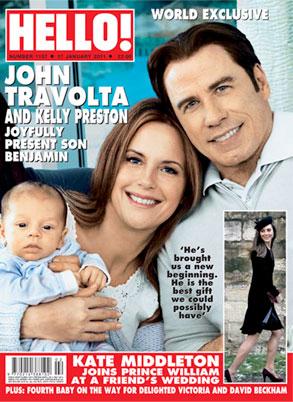 Travolta Family, Hello Cover