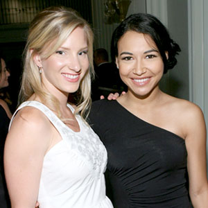 Heather Morris, Naya Rivera