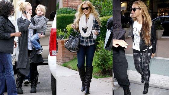 Britney Spears, Lindsay Lohan, Beyonce Knowles