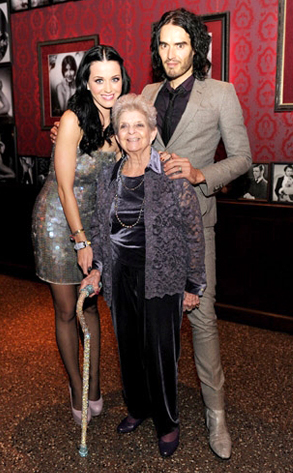 Katy Perry, Russell Brand, Katy Perry Grandmother