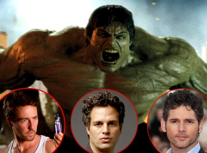Ed Norton, The Incredible Hulk, Eric Bana, Mark Ruffalo