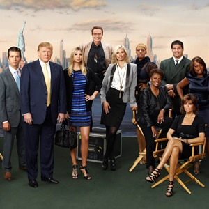 THE CELEBRITY APPRENTICE, Cast