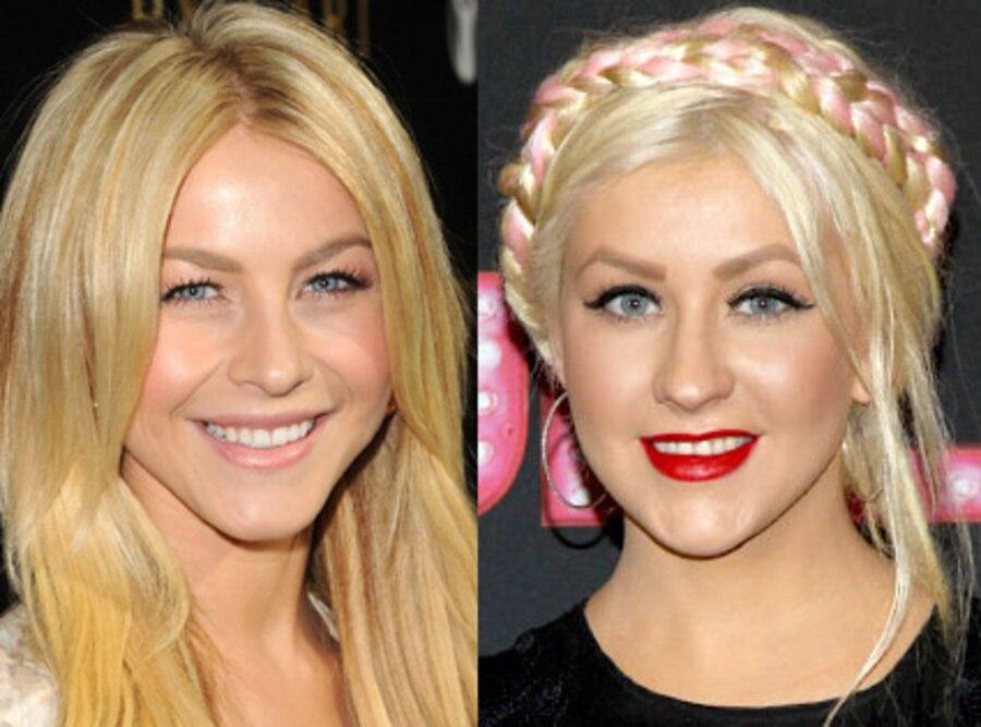 Christina Aguilera, Julianne Hough