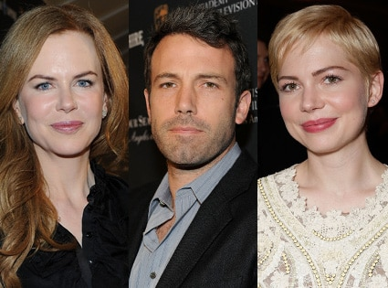 Nicole Kidman, Ben Affleck, Michelle Williams