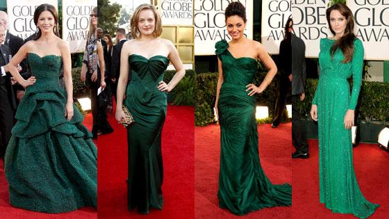 Catherine Zeta Jones, Elisabeth Moss, Mila Kunis, Angelina Jolie