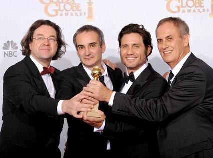 Jens Meurer, Olivier Assayas, Edgar Ramirez, Daniel Leconte