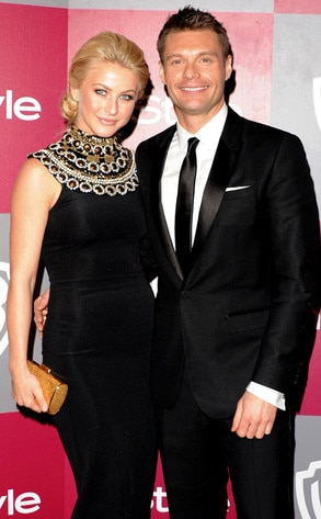 Julianne Hough, Ryan Seacrest