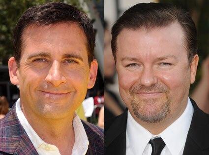 Ricky Gervais, Steve Carell