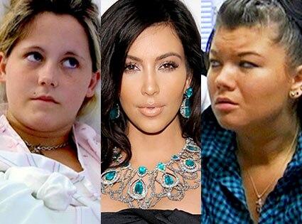 Jenelle Evans, Kim Kardashian, Amber Portwood