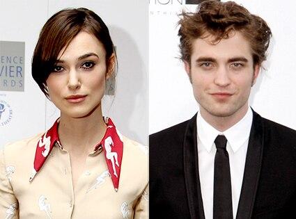 Keira Knightley, Robert Pattinson