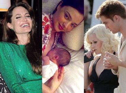 Angelina Jolie, Miranda Kerr, Flynn Bloom, Reese Witherspoon, Robert Pattinson