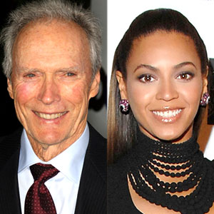 Beyonce Knowles, Clint Eastwood