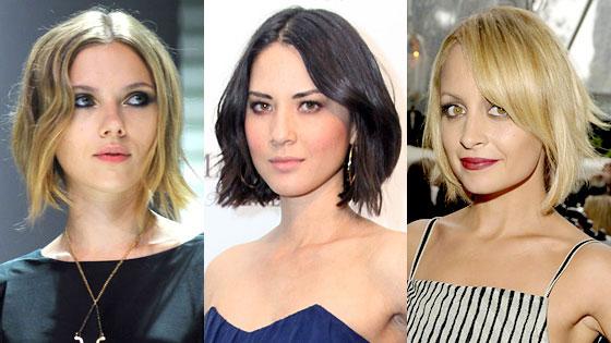 Scarlett Johansson, Olivia Munn, Nicole Richie