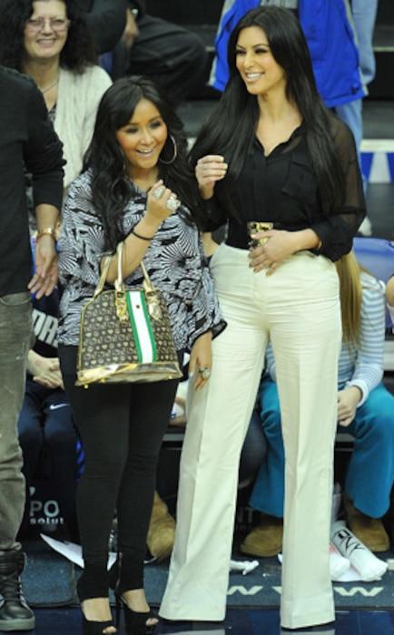 Nicole Snooki Polizzi, Kim Kardashian
