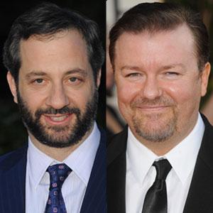 Ricky Gervais, Judd Apatow