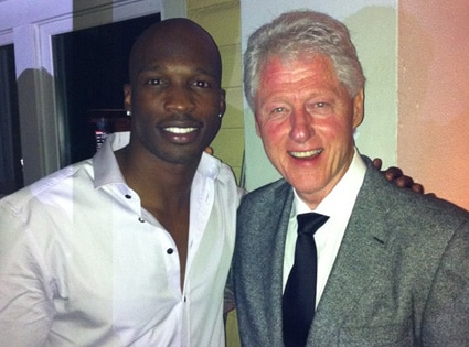Bill Clinton, Chad Ochocinco
