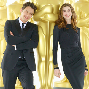 James Franco, Anne Hathaway, Oscar