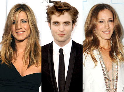 Jennifer Aniston, Robert Pattinson, Sarah Jessica Parker