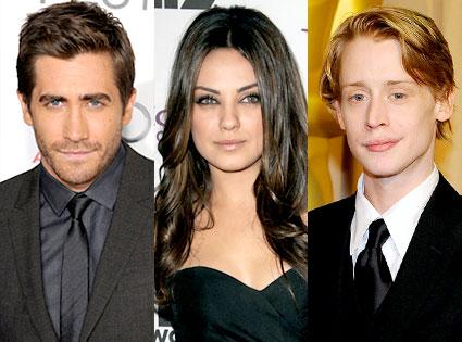 Jake Gyllenhaal, Mila Kunis, Macauley Culkin,
