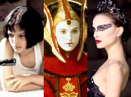 Natalie Portman, The Professional, Star Wars, Black Swan