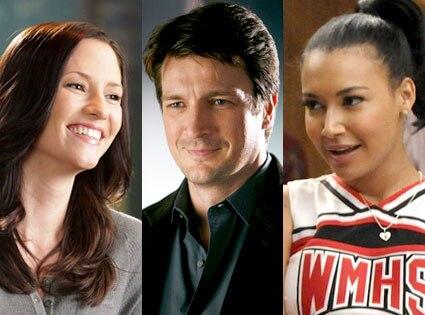 Chyler Leigh, Greys Anatomy, Nathan Fillion, Castle, Naya Rivera, Glee