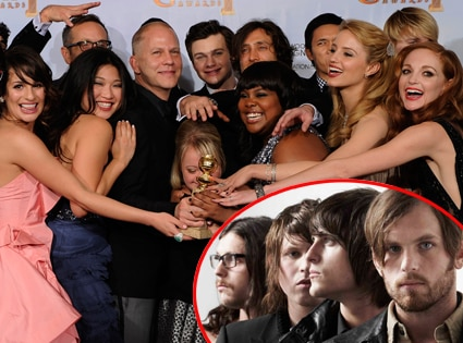 Glee Cast, Ryan Murphy, Kings of Leon