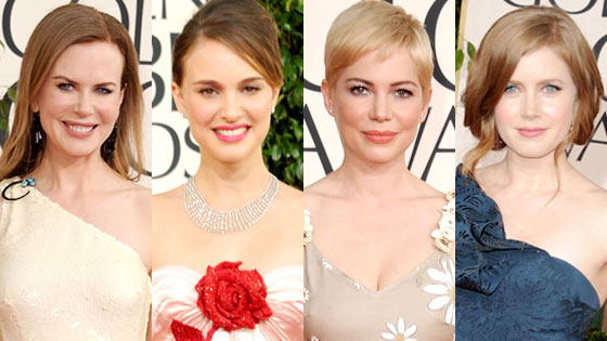 Nicole Kidman, Natalie Portman, Michelle Williams, Amy Adams