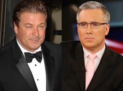 Alec Baldwin, Keith Olbermann