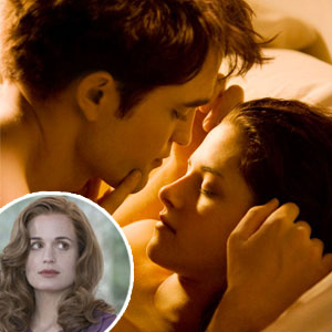 Robert Pattinson, Kristen Stewart,  Elizabeth Reaser, THE TWILIGHT SAGA: BREAKING DAWN
