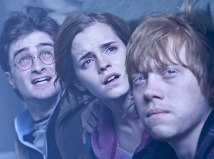Harry Potter Deathly Hallows Part 2, Daniel Radcliffe, Emma Watson, Rupert Grint