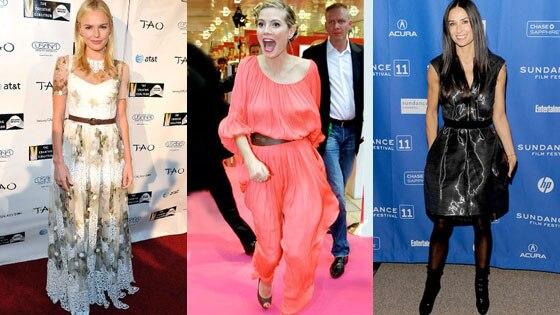 Kate Bosworth, Heidi Klum, Demi Moore