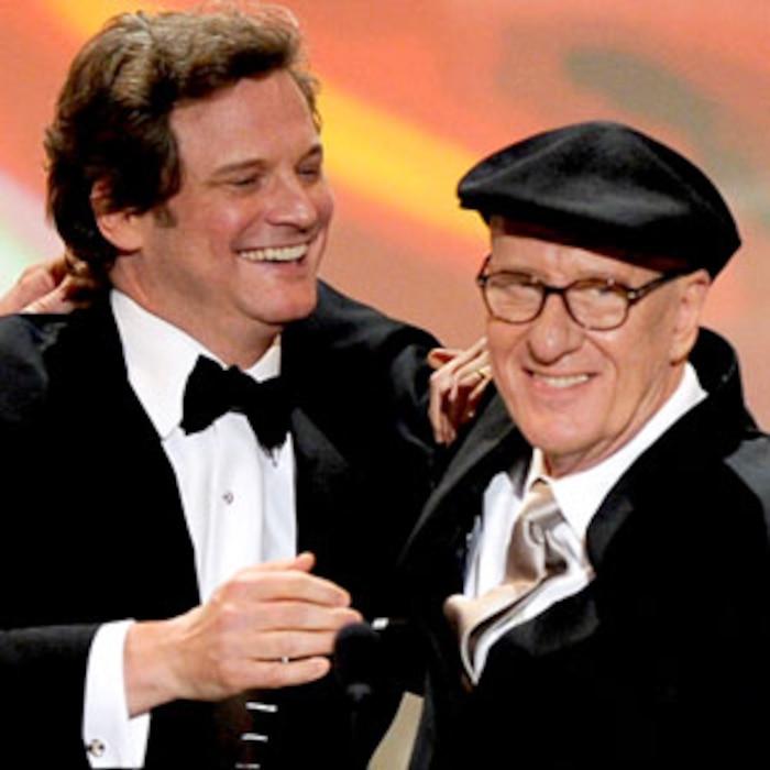 Colin Firth, Geoffrey Rush