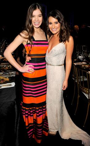 Hailee Steinfeld, Lea Michele