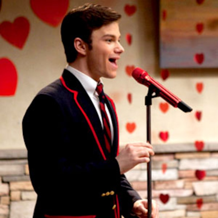 Chris Colfer, Glee