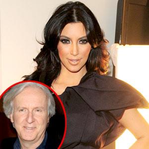Kim Kardashian, James Cameron