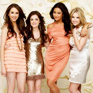 Troian Bellisario, Lucy Hale, Shay Mitchell, Ashley Benson, Pretty Little Liars